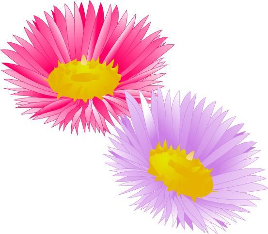 """Corel Xara.  Цветы.  Цветочки. скачать векторный оригинал рисунка  """"Цветочки."""